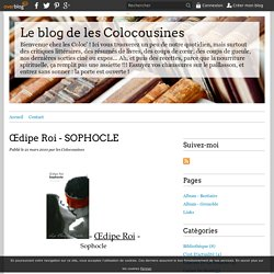 Œdipe Roi - SOPHOCLE - Le blog de les Colocousines