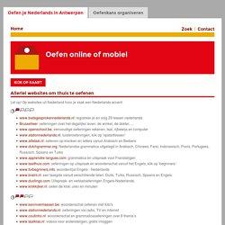 Oefen online of mobiel - Oefen je Nederlands