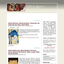 oeil de minerve ISSN 2267-9243