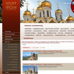 Sovjet Reizen – Reizen en cruises naar Rusland, Oekraine, Oezbekistan, Roemenië, Armenië, Georgië en nog veel meer