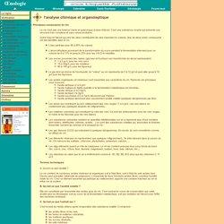Oenologie - l'analyse chimique et organoleptique