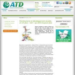 Oenotourisme et développement durable, un vin plus « vert » qui attire toujours plus