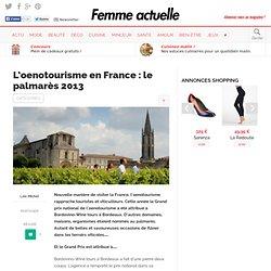 L'oenotourisme en France : le palmarès 2013