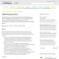 OER-Festival 2016
