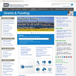 OER Home Page - Grants Web Site