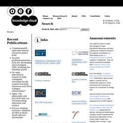 OER KnowledgeCloud