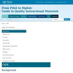 OER » Quality Content - SETDA