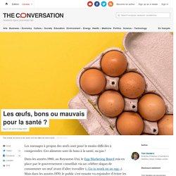 THE CONVERSATION 25/03/19 Les œufs, bons ou mauvais pour la santé ?