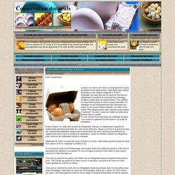 OEUFS : Conservation des oeufs