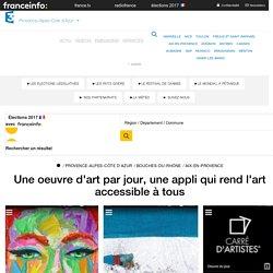 Une oeuvre d'art par jour, une appli qui rend l'art accessible à tous - France 3 Provence-Alpes-Côte d'Azur