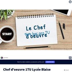 Chef d'oeuvre 1TU Lycée Blaise Pascal par charlie.louis sur Genially