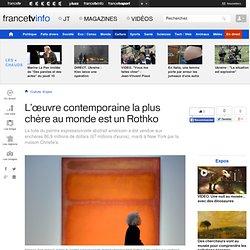"""Rothko, """"Orange, Red, Yellow"""" $86,9 millions"""