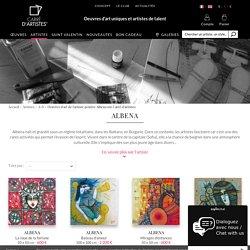Oeuvres d'art de l'artiste peintre Albena sur Carré d'artistes - Carré d'artistes
