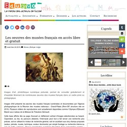 Les oeuvres des musées français en accès libre et gratuit