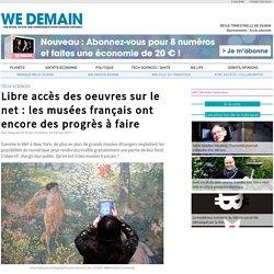 Libre accès des oeuvres sur le net : les musées français ont encore des progrès à faire