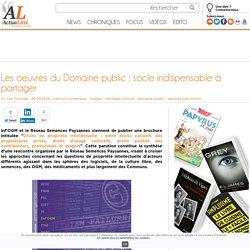 Les oeuvres du Domaine public : socle indispensable à partager
