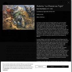 Peter Paul Rubens (1577 - 1640), La Chasse au Tigre, entre 1615 et 1617, Huile sur toile, 248,2 x 318,3 cm, Musée des beaux arts de Rennes