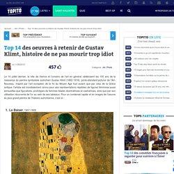 Top 15 des oeuvres à retenir de Gustav Klimt, histoire de ne pas mourir trop idiot
