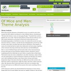 Of Mice and Men: Theme Analysis