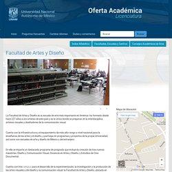 Facultad de Artes y Diseño