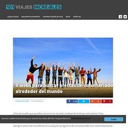8 webs para buscar ofertas de voluntariado alrededor del mundo