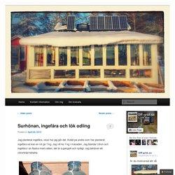 Bygga ett hus på hjul för att gå off-grid