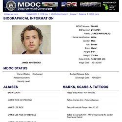 Offender Tracking Information System (OTIS) - Offender Profile