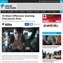 15 Most Offensive Gaming Characters Ever