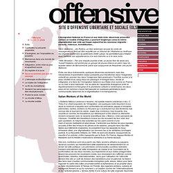 Site de l'Offensive Libertaire et sociale