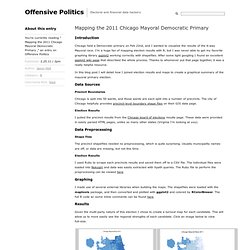 Offensive Politics» Blog Archive » Mapping the 2011 Chicago Mayoral Democratic Primary