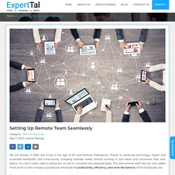 Hire the best remote IT staff offered by ExpertTal. Happy remote working!