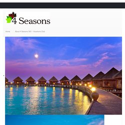 4 Seasons 365, Offering Different Travel Styles to Different People