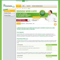L'offerta Edison Web Luce per la casa, prezzo solo online. - Nightly