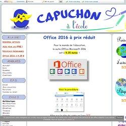 Office 2016 à prix réduit