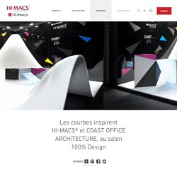 HI-MACS® et COAST OFFICE ARCHITECTURE
