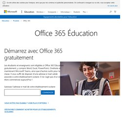 Office - Microsoft Éducation