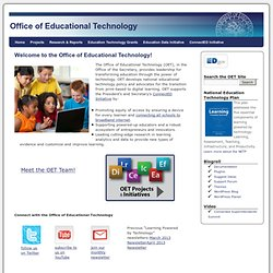 Office of Educational Technology (OET)