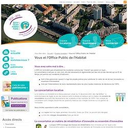 Vous et l'Office Public de l'Habitat - Espace locataire - Saint Ouen Habitat Public