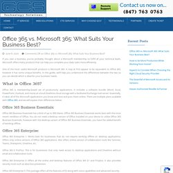 Office 365 vs. Microsoft 365: What Suits Your Business Best?