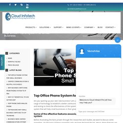 Top Office Phone System for Small Business