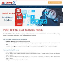 Post Office Self Service Kiosk, Post office kiosks - Medinyx