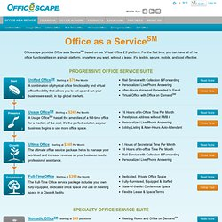 Office as a Service℠
