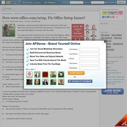 Get Your Office Setup Suite Easily - www.office.com/setup