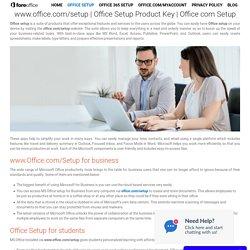 Office Setup Product Key