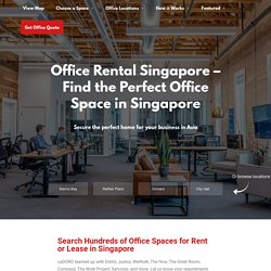 Find an Office for Rent or Lease