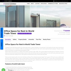 Office Space for rent in World Trade Tower