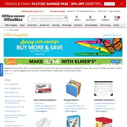 Office Depot - Office Supplies
