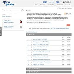 Atomic Learning: Office 365 - Basic User Training