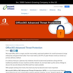 Office365 Advanced Threat Protection