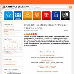 Office365 - Des formations en ligne pour l'utiliser aisément